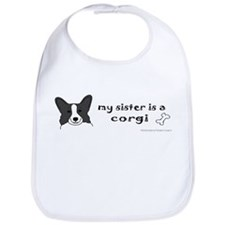 Big sister dog Bib