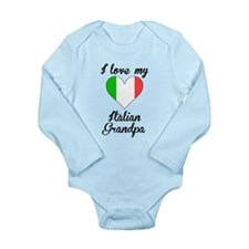 I Love My Italian Grandpa Body Suit