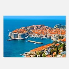 Croatia Harbor Postcards (Package of 8)