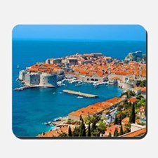 Croatia Harbor Mousepad