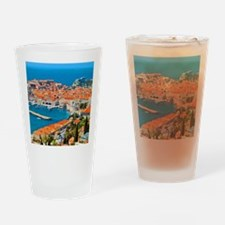 Croatia Harbor  Drinking Glass