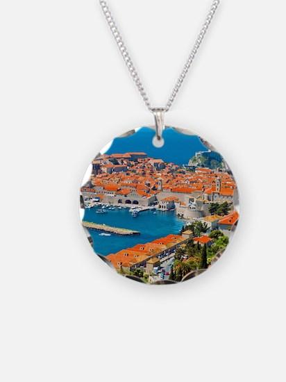 Croatia Harbor  Necklace