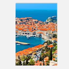 Croatia Harbor Postcards (Package of 8)
