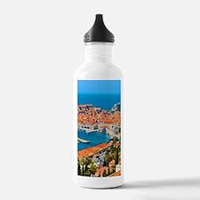 Croatia Harbor Water Bottle