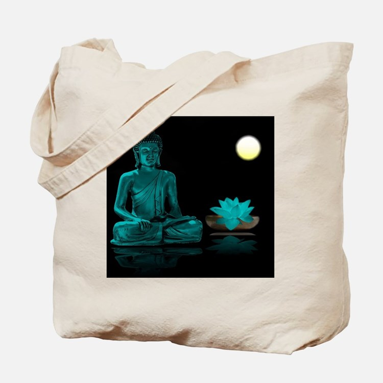 Cute Buddhism Tote Bag