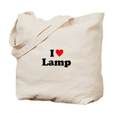 I Love Lamp Tote Bag