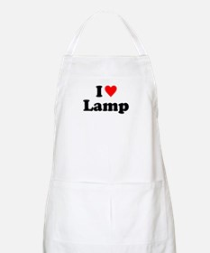 I Love Lamp Apron