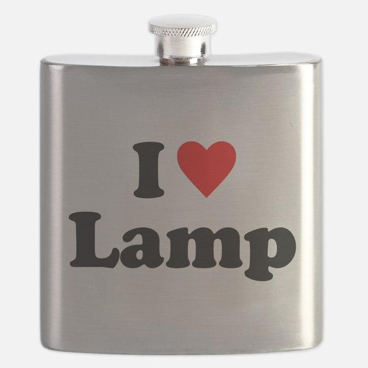 I Love Lamp Flask