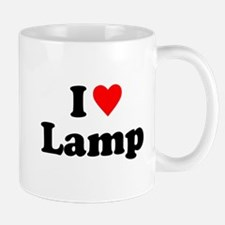 I Love Lamp Mugs