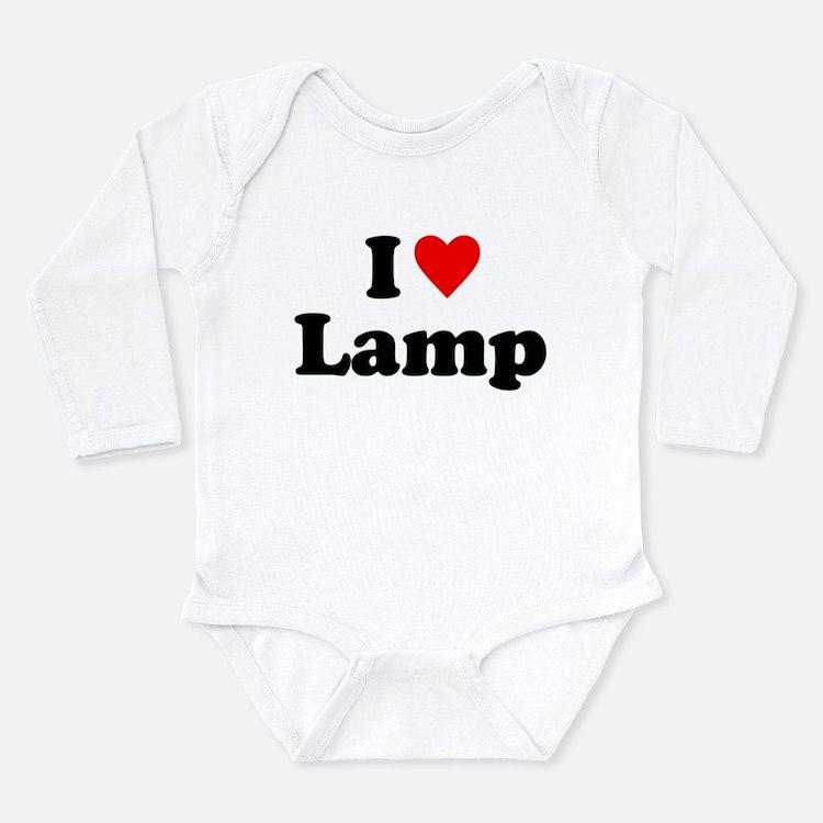 I Love Lamp Body Suit
