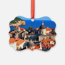 Croatia Downtown Ornament