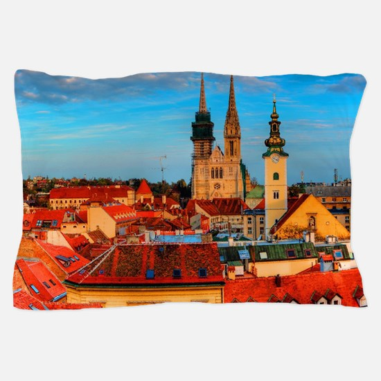 Croatia Cathedral Pillow Case