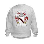 Quental Family Crest Kids Sweatshirt