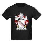 Quental Family Crest Kids Dark T-Shirt