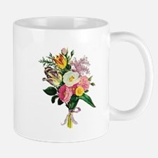 Tulip and Camellia Bouquet Mug