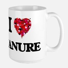 I Love Manure Mugs