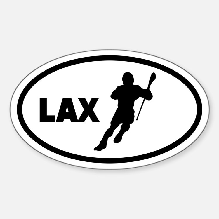 LAX Player Oval Decal