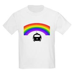 Trailer Under A Rainbow Kids T-Shirt