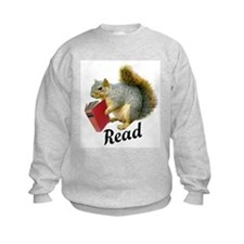 Squirrel Book Read Sweatshirt