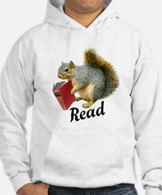 Squirrel Book Read Hoodie