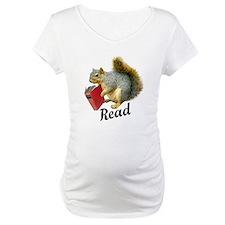Squirrel Book Read Shirt