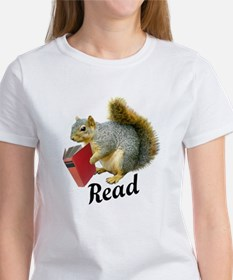 Squirrel Book Read T-Shirt