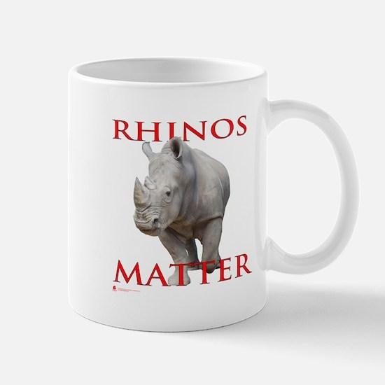 Rhinos Matter Mugs