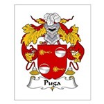 Puga Family Crest  Small Poster