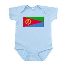 Flag of Eritrea Infant Bodysuit