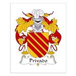 Privado Family Crest Small Poster