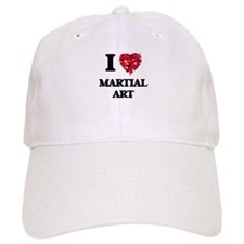 I Love Martial Art Baseball Cap