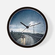 Unique Thunderstorm Wall Clock