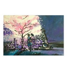 Cool Cherry blossoms Postcards (Package of 8)