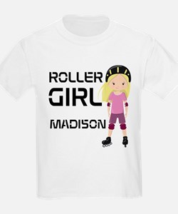 Rollergirl Blonde T-Shirt