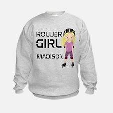 Rollergirl Blonde Sweatshirt