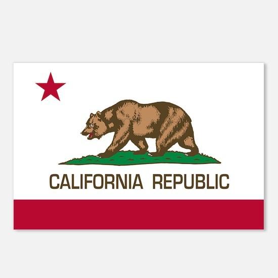 California Repulic Postcards (Package of 8)