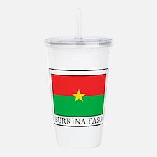 Burkina Faso Acrylic Double-wall Tumbler