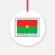 Burkina Faso Ornament (Round)