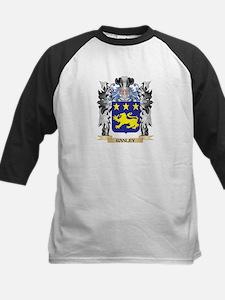 Ganley Coat of Arms - Family Crest Baseball Jersey