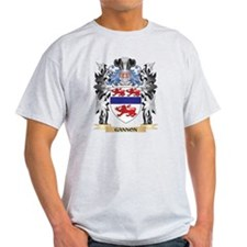 Gannon Coat of Arms - Family Cr T-Shirt