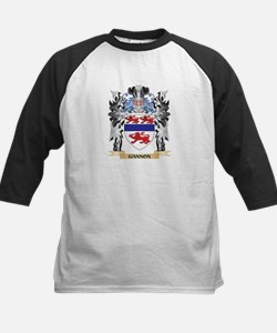 Gannon Coat of Arms - Family Crest Baseball Jersey