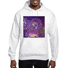 Boston, MA July 4th Fireworks Hoodie