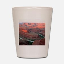 Dead Horse Point State Park, Utah, USA Shot Glass