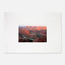 Dead Horse Point State Park, Utah, 5'x7'Area Rug