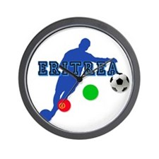 Eritrea soccer footballer Wall Clock