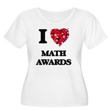 I Love Math Awards Plus Size T-Shirt