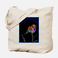 Lilac Bird Tote Bag