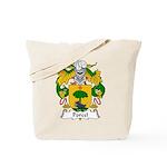 Porcel Family Crest Tote Bag