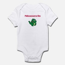 Melissaosaurus Rex Infant Bodysuit
