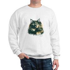 Tortoiseshell Cat Sweatshirt